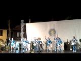 Танец Диско-микс на фестивале в Болгарии