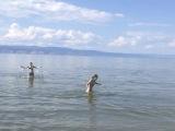 купание в Байкале 2